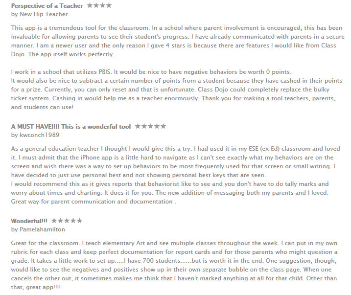 iPadd app for teachers reviews
